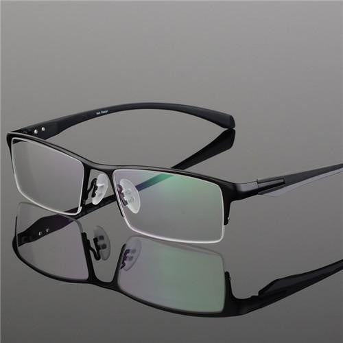 Fashion Titanium Rimless Eyeglasses Frame Men Glasses