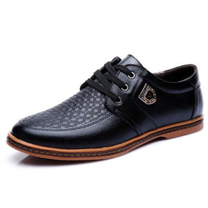 Luxury Brand Hot Sale Leather Breathable Soft Men Shoes