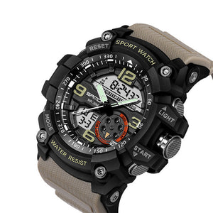 Military Sport Waterproof Watch Men Electronic LED Digital Wristwatch