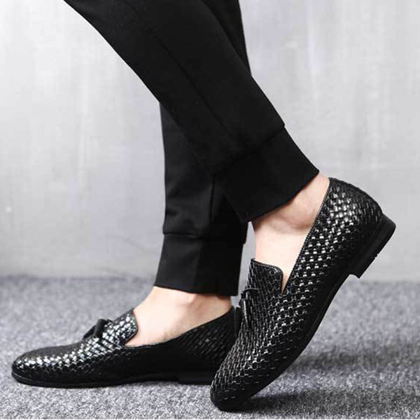Weave Large Size Business Shoes