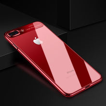 Load image into Gallery viewer, New Fashion Electroplating Frame Clear Case For iPhone
