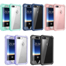 PC+TPU 2-Layers Hybrid Full-Body Protect Cover for iPhone