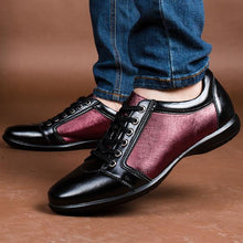 Lace Up Men Casual Flats