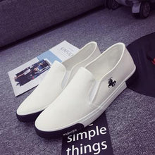 Load image into Gallery viewer, PU Leather Breathable Men Loafers