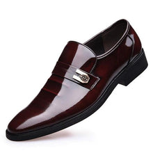 Fashion Design Genuine Leather Wedding Party Shoes