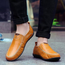 Load image into Gallery viewer, Soft Leather Handmade Casual Men's Loafers