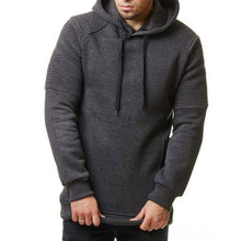 Load image into Gallery viewer, Men's Solid Color Large Size Hoodie