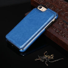Load image into Gallery viewer, Luxury Leather Flip Covers Hidden Card Stand Phone Case