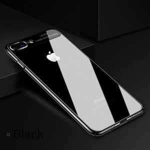 New Fashion Electroplating Frame Clear Case For iPhone