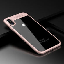 Load image into Gallery viewer, Luxury Clear Acrylic 360 Full Protective Phone Case for iPhone X