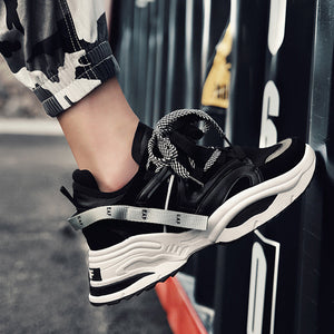 Increase Breathable Wear Resistant Men's Sneakers