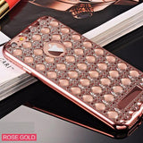 Fashion Gold Bling Glitter Plating Diamond iPhone Case