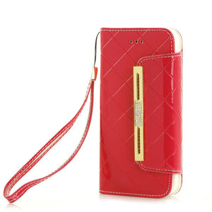 Luxury Wallet Case For iPhone 8 7 6s Plus
