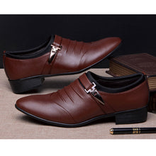 Load image into Gallery viewer, Brand Wedding Shoes Oxford Shoes