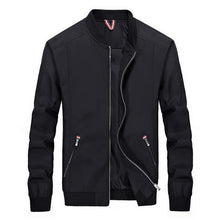 Load image into Gallery viewer, Autumn Male Windbreaker Fitness Zipper Stand Collar Jackets