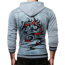 Load image into Gallery viewer, Hip Hop Hooded Zipper Sweatshirt