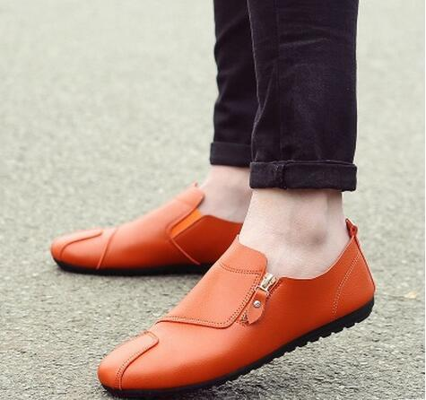 Pu Leather Breathable Casual Shoes