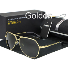 Load image into Gallery viewer, MenSunglasses-Metal Polarized Men Reflective Sunglasses