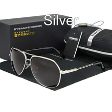 Load image into Gallery viewer, Metal Polarized Men Reflective Sunglasses
