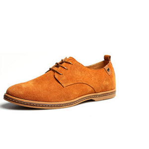 Nubuck Lace Up Oxford Casual Shoes