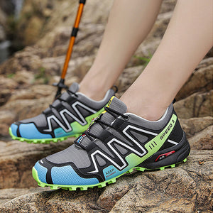 Shoes-High Quality Men Waterproof Mountain Climbing Hiking Sneakers