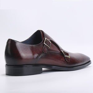 Fashion Double Monk Strap Dress Shoes
