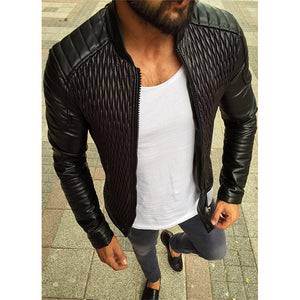 Solid color jacket cardigan