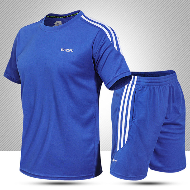 Summer Light And Quick-drying Breathable Men's Sports Suit