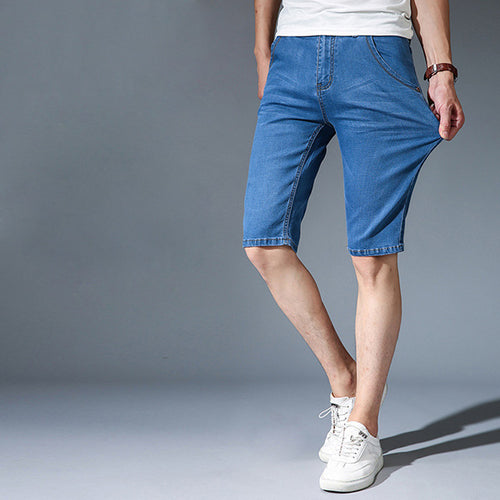 Men's summer stretch meager five pants