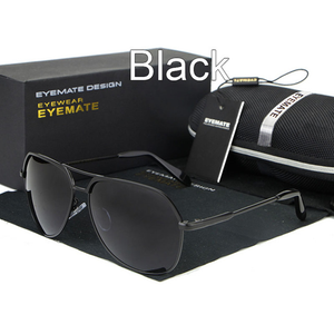 MenSunglasses-Metal Polarized Men Reflective Sunglasses