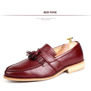 New Fashion Carving Tassel Men Oxfords Shoes