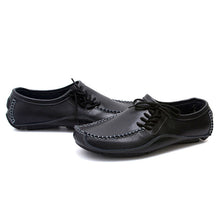 Load image into Gallery viewer, Shoes-Men's Genuine Leather Breathable Slip-on Loafers