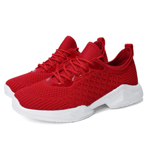 Lightweight Clean Color Running Men's Sneakers