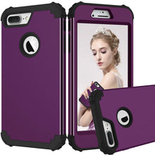 Load image into Gallery viewer, New Fashion Shockproof Anti-Knock PC+TPU 3-Layers Hybrid Full-Body Phone Cases for iPhone