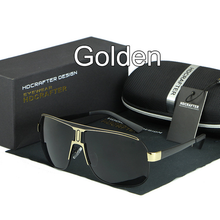 Load image into Gallery viewer, Sunglasses-Fashion Men's Mental Retro Polarized Sunglasses