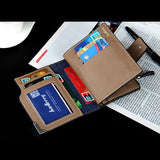 Wallet - Men Leather Quality Guarantee Wallet