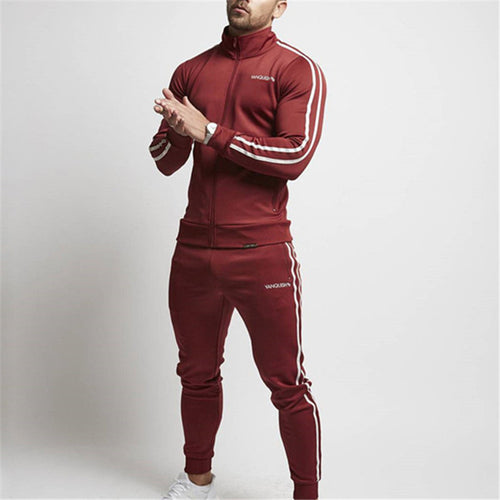 Fitness Clothes And Trousers Men's Sports Suits