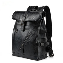 Load image into Gallery viewer, NEW Men's Fashion PU Leather Backpack & Travel Bag