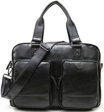 Load image into Gallery viewer, High Quality Multifunctional Fashion Business Tote Leather Large Bags