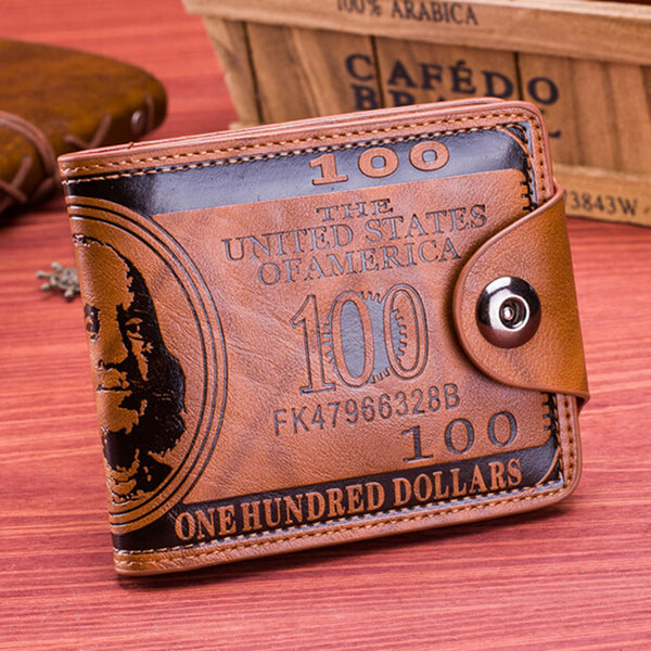 Dollar Print Men's Wallet