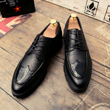 Load image into Gallery viewer, Lace-Up Bullock Business Men's  Shoes