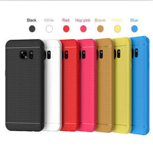 Load image into Gallery viewer, Ultra Slim Candy Color Honeycomb Dot Protective Cover For Samsung
