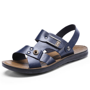 Sale-Shoes- New Arrival Summer Men's Breathable Leather Sandals