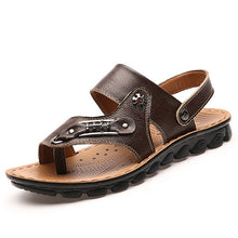 Load image into Gallery viewer, Sale-Shoes- New Arrival Summer Men's Breathable Leather Sandals
