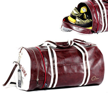 Load image into Gallery viewer, Fashion Soft Leather barrel Travel High-Capacity Bag For Men