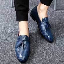 Load image into Gallery viewer, Genuine Leather Big Size  Summer Men Slip-On Shoes