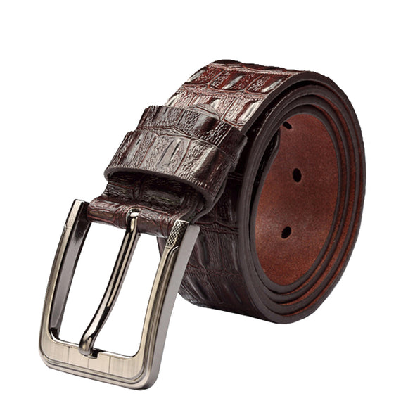 Hot Sale Business  Luxury  Layer Cowhide Leather Belts For Men