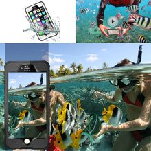 IP68 Fingerprint Underwater Waterproof Pro Hard Case for iPhone 6 6s Plus