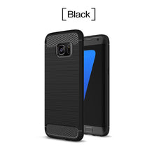 Load image into Gallery viewer, Shockproof Carbon Fiber TPU Drawing Material Phone Cases  For Samsung