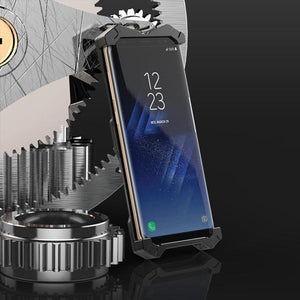 Transformer Metal Armor Phone Case For Samsung
